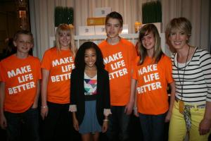 unicity, make life better, kids choice, hunger games, hollywood, talkworthy radio, kim power stilson, Amandla Stenberg