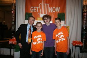 unicity, slim, make life better, kids choice awards, victorious, talkworthy, brent morrill, hollywood, american cancer society